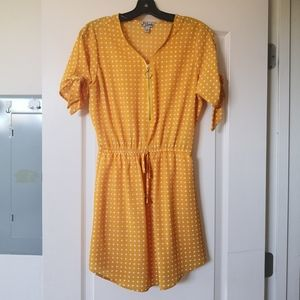 Ginger/yellow cute dress